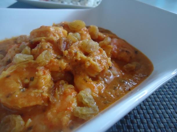 curry crevettes amandes et noix de coco 054