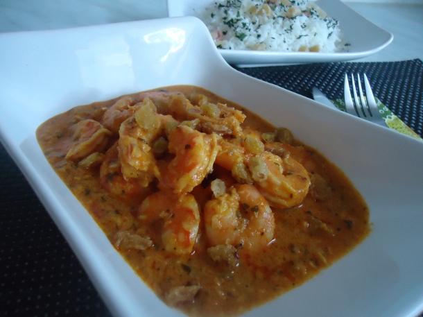 curry crevettes amandes et noix de coco 071