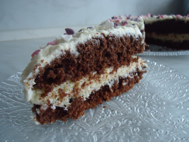 Gâteau façon Kinder Délice 015