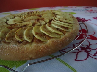 Brioche façon tarte aux pommes 001