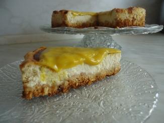 Cheese cake madeleines vanilles mangues 045