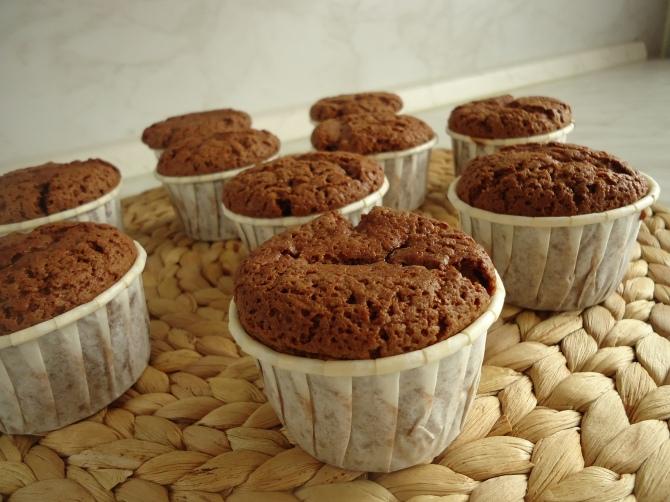 Muffins au chocolat au lait 005