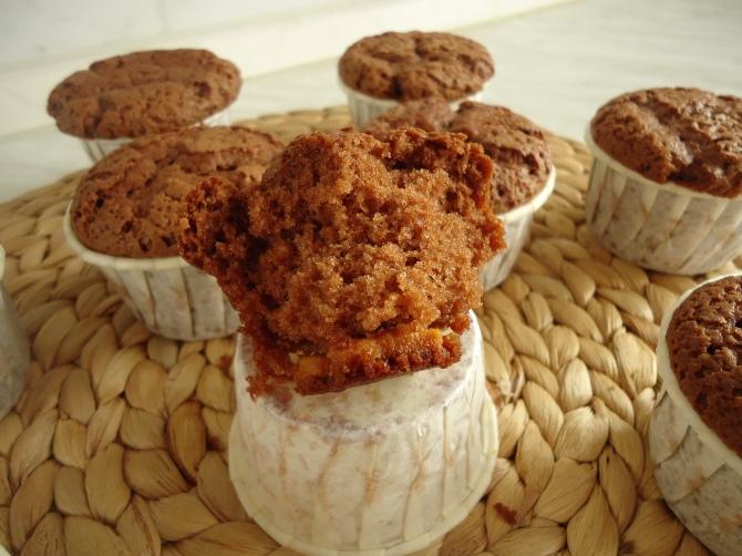 Muffins au chocolat au lait 031