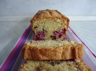 Cake choco-framboises 004