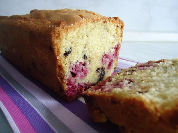 Cake choco-framboises 016