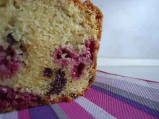 Cake choco-framboises 029