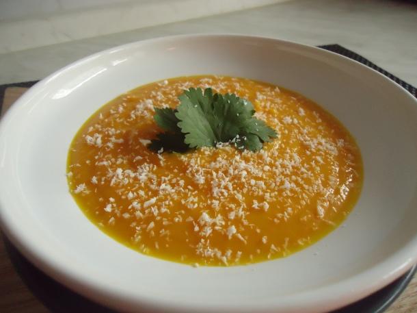 Velouté carottes et fenouils aux saveurs exotiques 005