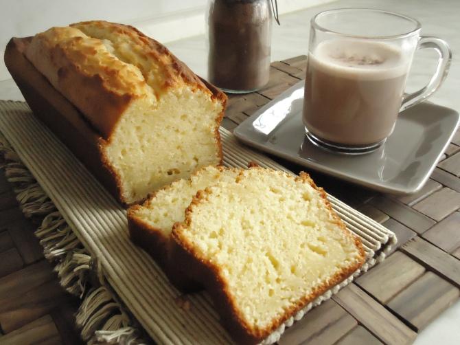Cake au yaourt et son chocolat chaud maison 068