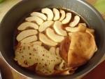 Gâteau de crèpes aux pommes et caramel 014