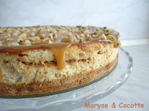 Cheese Cake Banane au Caramel Beurre Salé