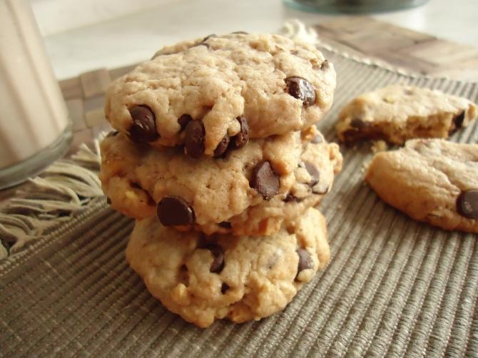 Cookies noix et chocolat 120