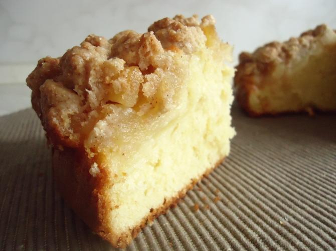 Gâteau aux pomme et streussel 049