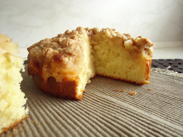 Gâteau aux pommes et streussel 004