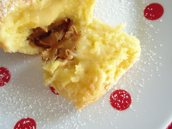 Mi-cuit chocolat blanc et son coeur spéculoos 053