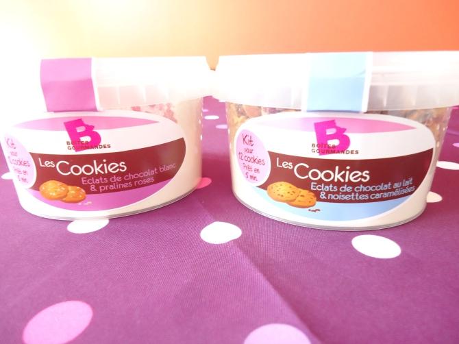 Cookies de Boîtes Gourmandes 002