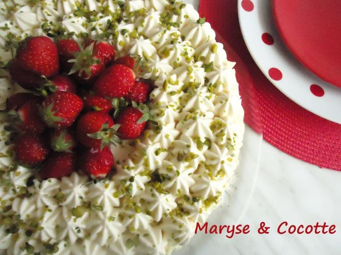 Gâteau diplomate aux fraises 178