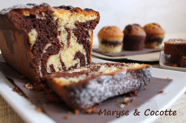 Cake marbré 085