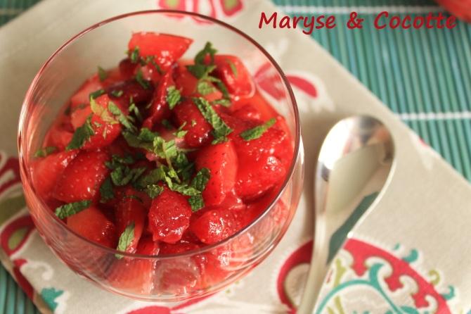 Salade de fraises 058