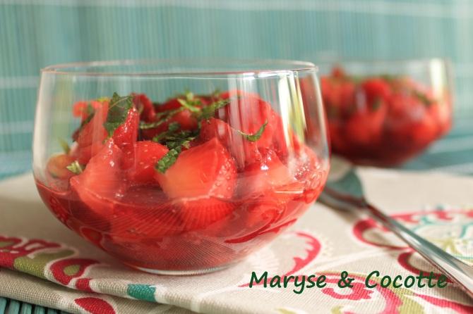 Salade de fraises 076
