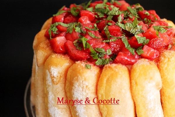Charlotte aux fraises 083