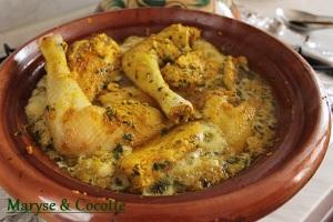 Tagine de poulets aux olives 033
