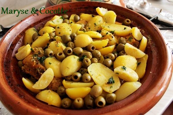 Tagine de poulets aux olives 038
