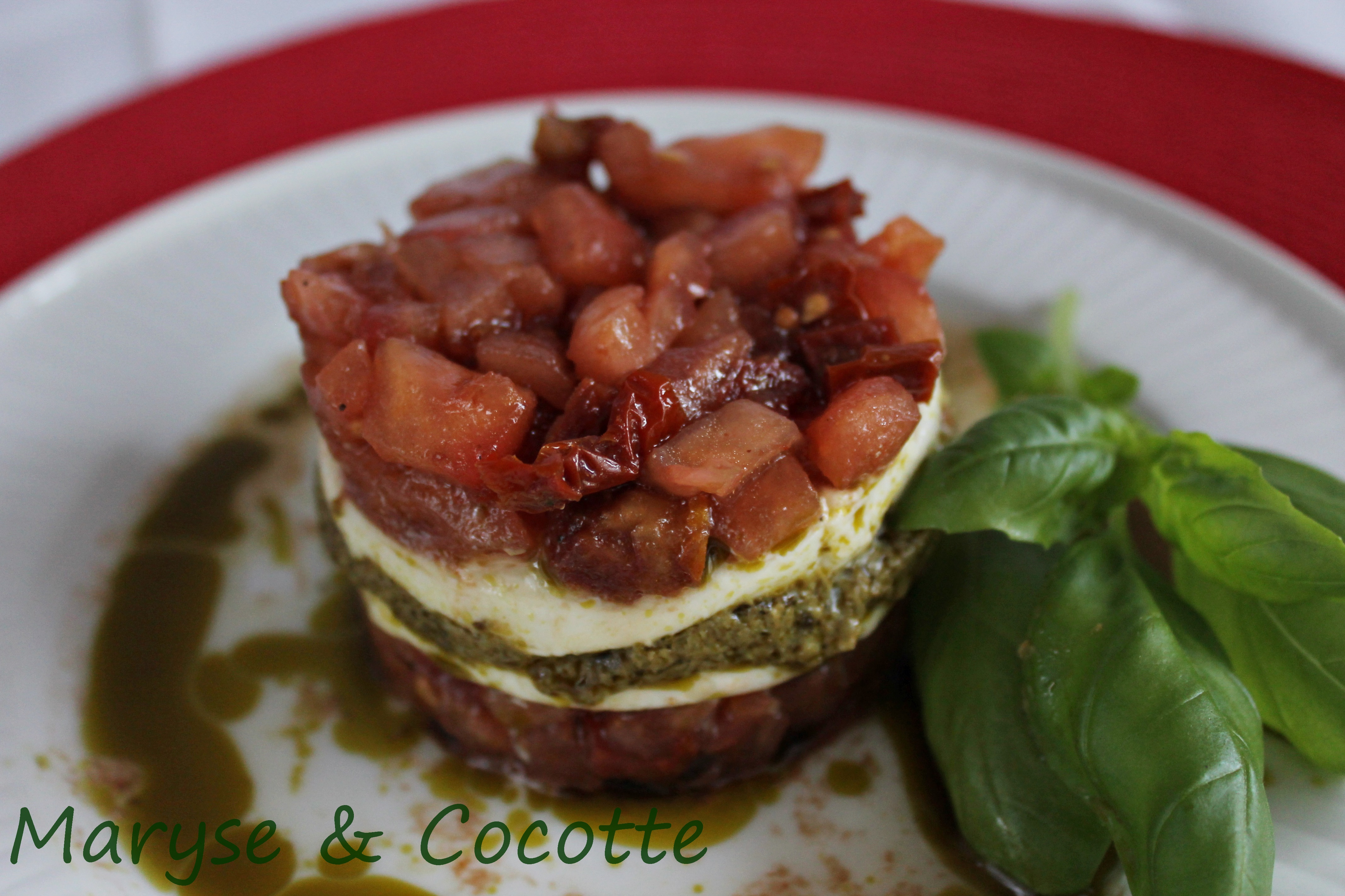 tartare de tomates en mille-feuilles 1 088