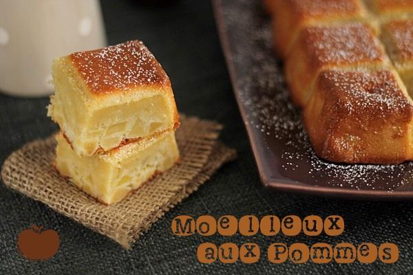 Moelleux aux pommes maryse cocotte - Gateau pour le petit dejeuner ...