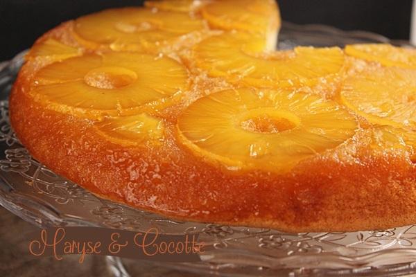 Dessert gateau renverse a l'ananas